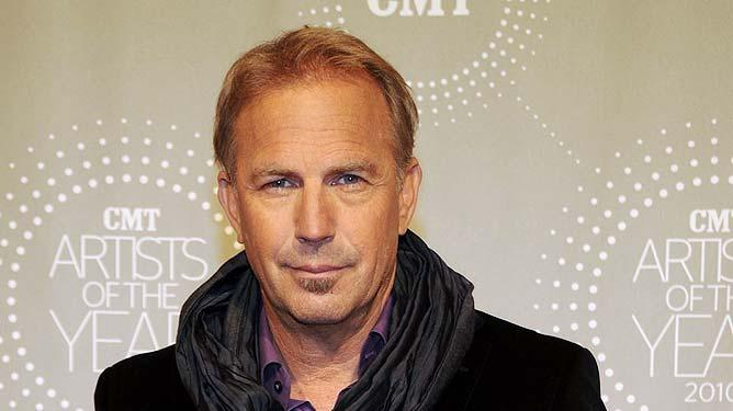 Kevin Costner CMT Artist Of The Year