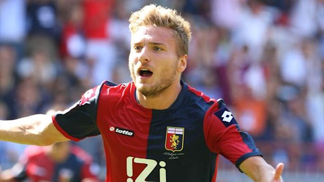 Ciro Immobile at Genoa (Reuters)