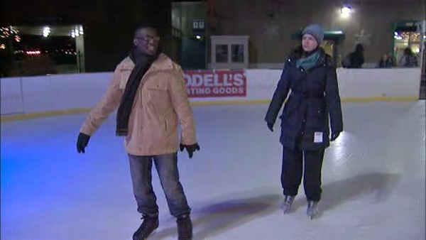 Annie McCormick reports on bitter cold temps