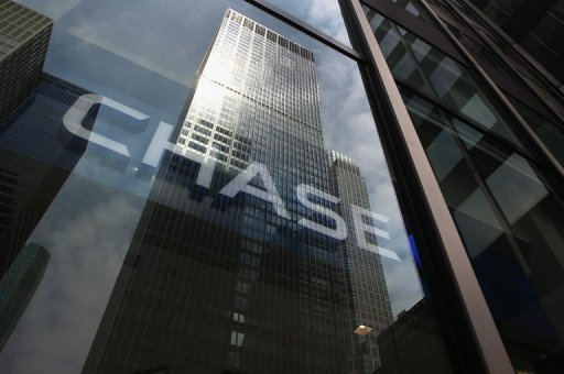 <p>This file photo shows the head office of JP Morgan Chase on Park Avenue in midtown Manhattan, pictured in July. JP Morgan Chase and Bank of America are among several US banks under investigation for breaches that may have let money flow to terrorists or drug dealers, according to The New York Times.</p>