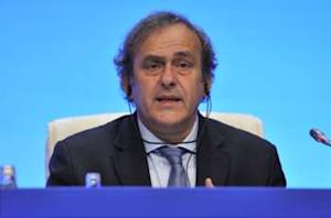 Michel Platini 'totally against' technology