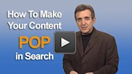 How to Make Your Content Irresistible in Search image Google thumb225