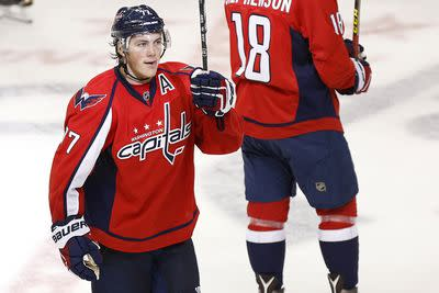T.J. Oshie made a young fan's Christmas wish come true