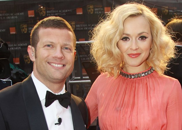 fearne-cotton-dermot-oleary-baftas-2012