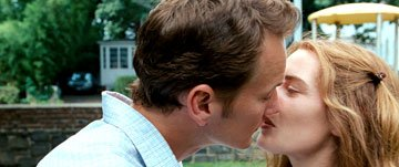 Patrick Wilson and Kate Winslet in New Line Cinema's Little Children
