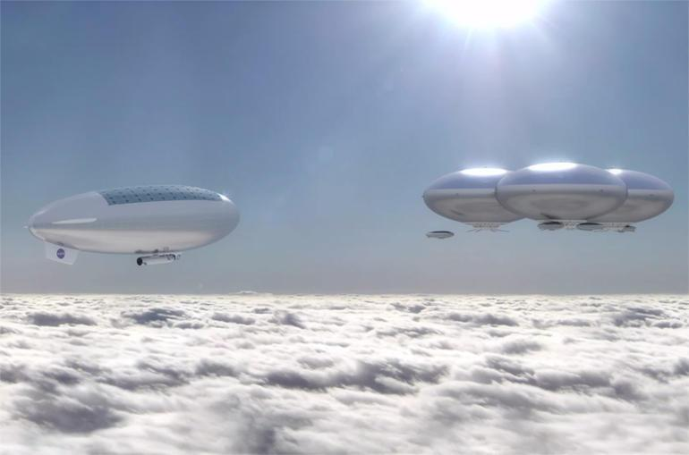 NASA wants to build a floating city above the clouds of Venus