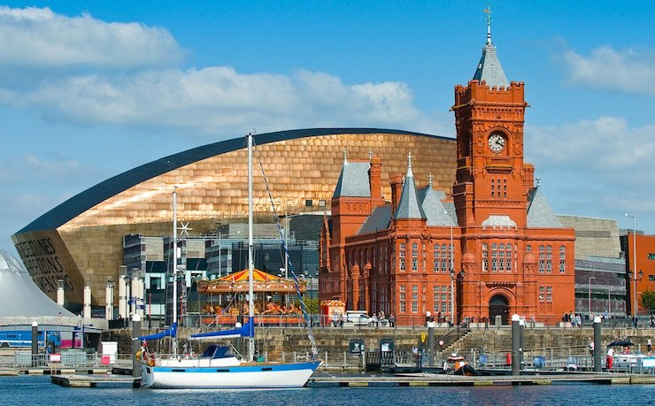 Cardiff Bay's reinvented waterfront mixes old and new. (Photo: VisitCardiff / Flickr)