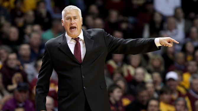 NCAA Basketball: Montana at Minnesota