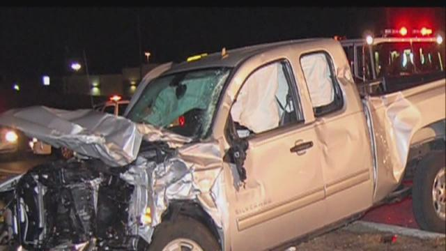 Head-on collision involving exes kills 1, injures 2