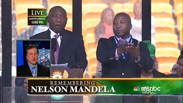 Actual Translation of Bogus Mandela Sign Language