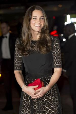 Catherine, Duchess of Cambridge attends the annual SportsAid dinner at Victoria Embankment Gardens on November 28, 2013 in London -- Getty Images