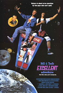 Poster of Bill and Ted&#39;s Excellent Adventure