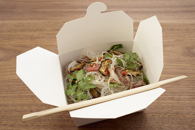 Chinese take-out food (Thinkstock)