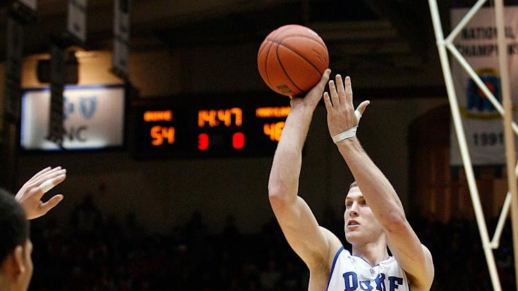 NCAA Basketball: Maryland at Duke