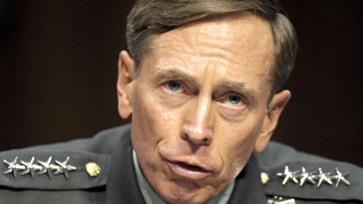 then-CIA Director-desigate Gen. David Petraeus