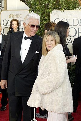 James Brolin, Barbra Streisand Golden Globes - 1/25/2004
