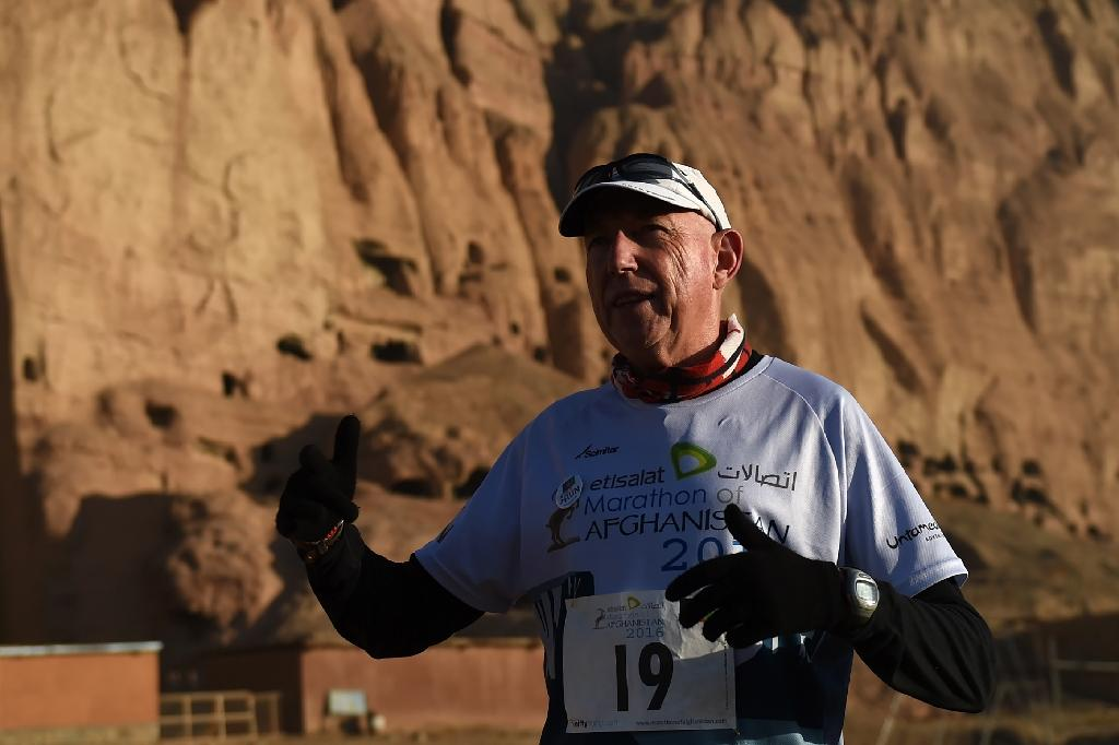 Canada's 'Marathon Man' finally achieves Afghan ambition