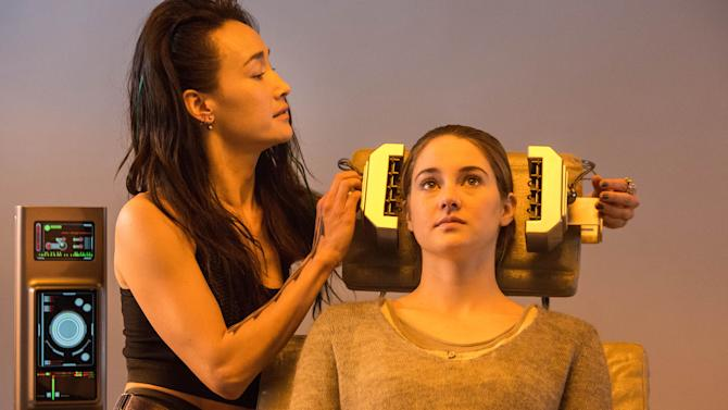 Teen sci-fi franchise 'Divergent' debuts with $56M