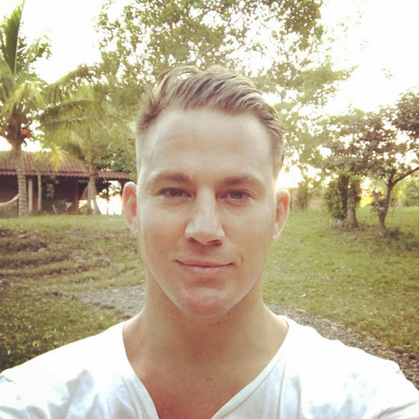 Channing Tatum is Now a Blonde Babe