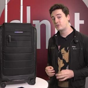 Bluesmart smart-suitcase knows its location, weighs itself