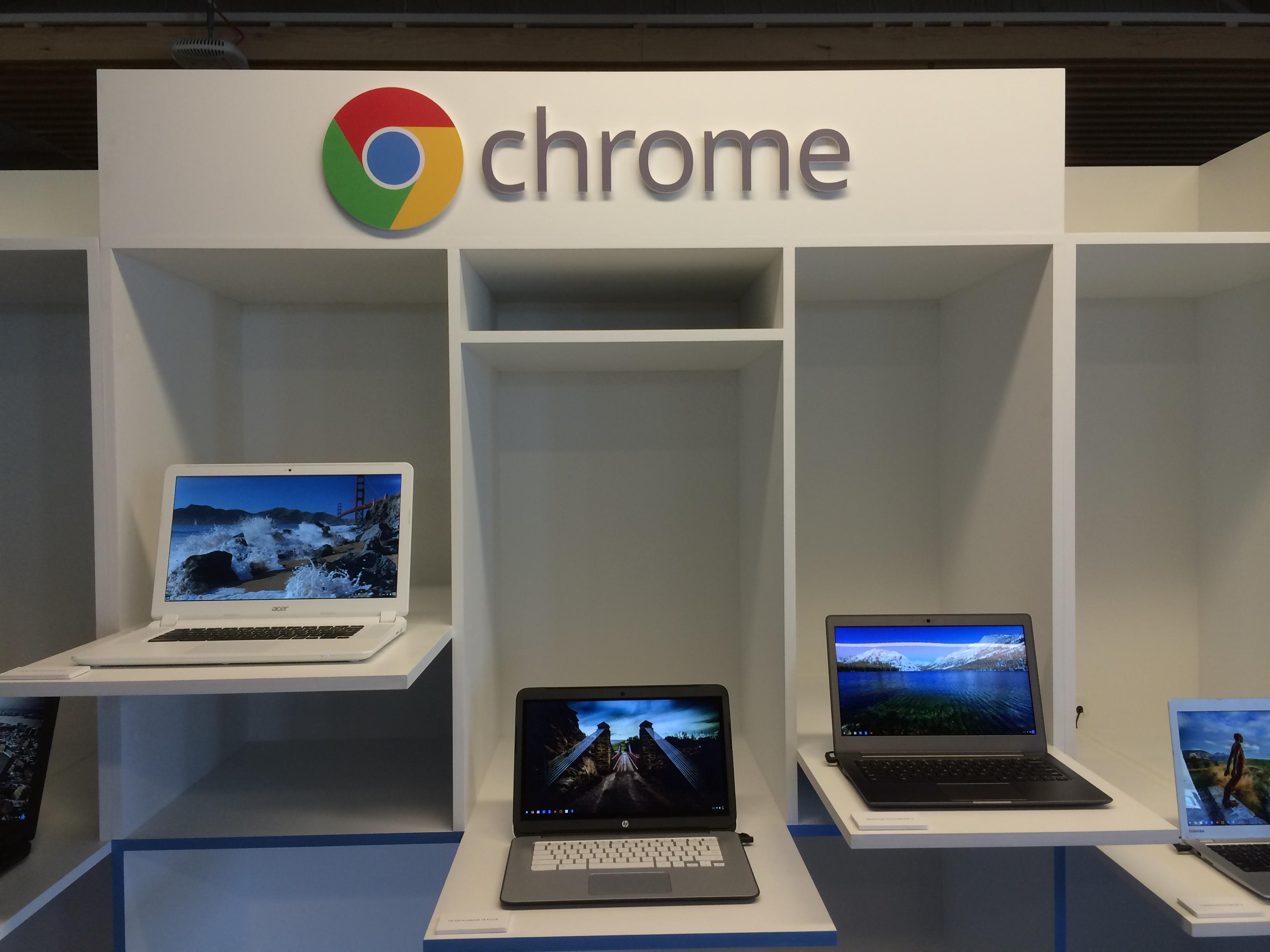 Google Chromebooks score in schools but slow to catch on elsewhere