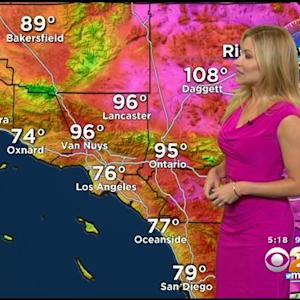 Jackie Johnson's Weather Forecast (July 23)