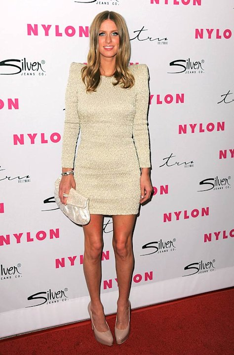 Nicky Hilton NYLON Prty