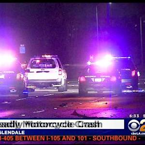 Double Fatal Motorcycle Accident Closes 134 Freeway In Glendale