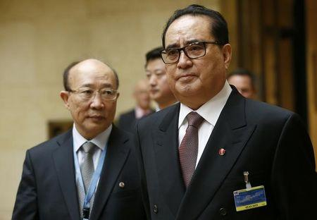 North Korea's Foreign Minister Ri arrives with ambassador to UN So to address Conference on Disarmament at UN in Geneva