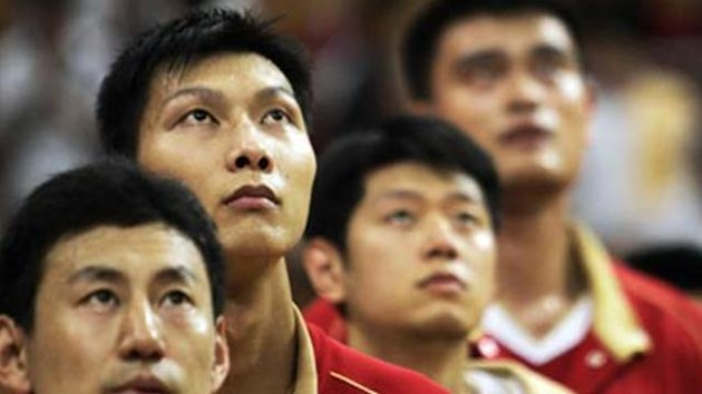 China's basketball players