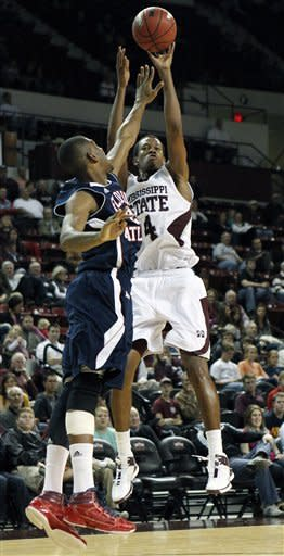 No. 17 Mississippi State beats FAU 75-68