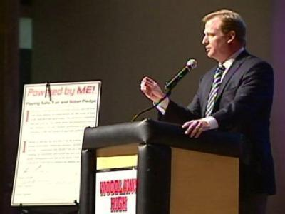 NFL Commish Warns Md. Athletes About Steroids