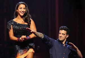 Alexandra Raisman, Mark Ballas | Photo Credits: Adam Taylor/ABC