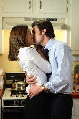 Hilary Swank and Patrick Dempsey in Paramount Pictures' Freedom Writers