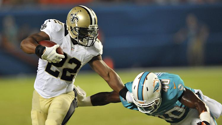 NFL: Preseason-New Orleans Saints at Miami Dolphins