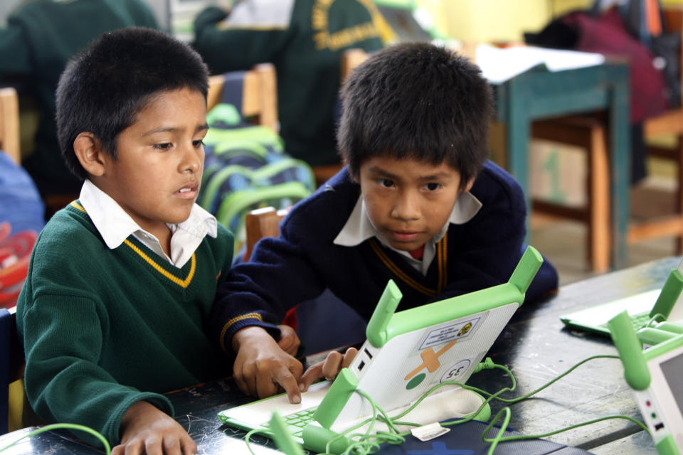 Peru's ambitious laptop program gets mixed grades