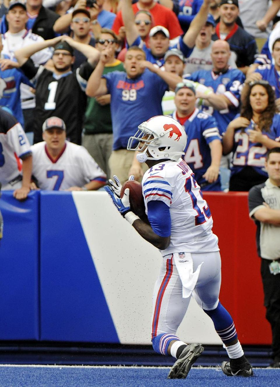 Bills' Manuel, Williams deliver to beat Panthers