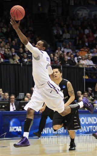Davis again JMU's MVP in 68-55 First Four win