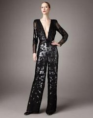 stella mccartney sequin jumpsuit