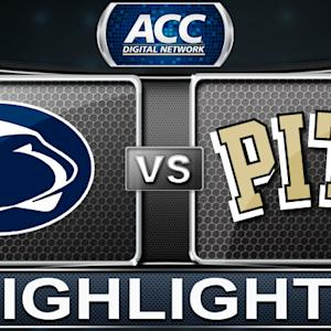 Penn State vs Pittsburgh | 2013 ACC Basketball Highlights