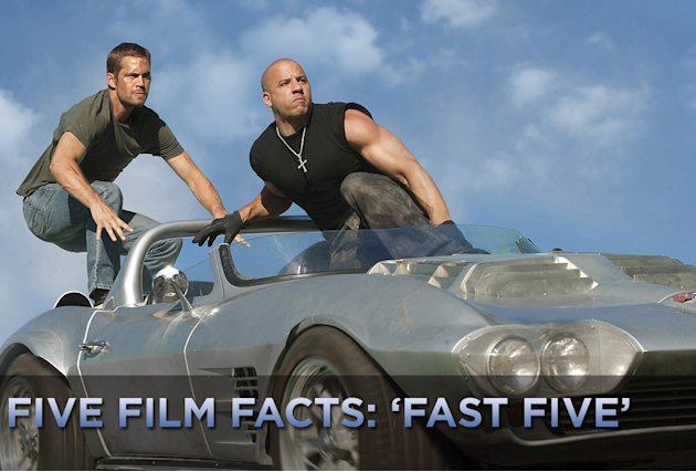 Five Film Facts Fast Five title card