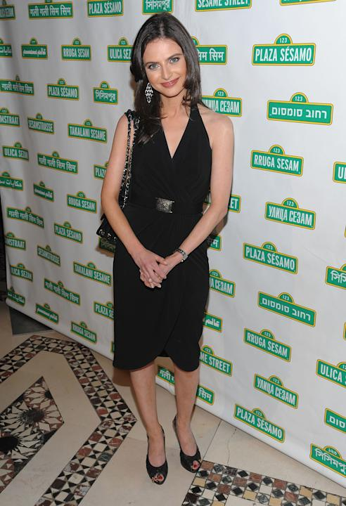 "ABC's ""Good Morning America"" Weekend Anchor Bianna Golodryga in a LBD"