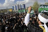 Afghan protesters rally in Kabul. Seven foreign United Nations workers were killed Friday in Afghanistan by protesters angered by a Koran burning in the United States, in the deadliest attack on the UN there since the 2001 invasion