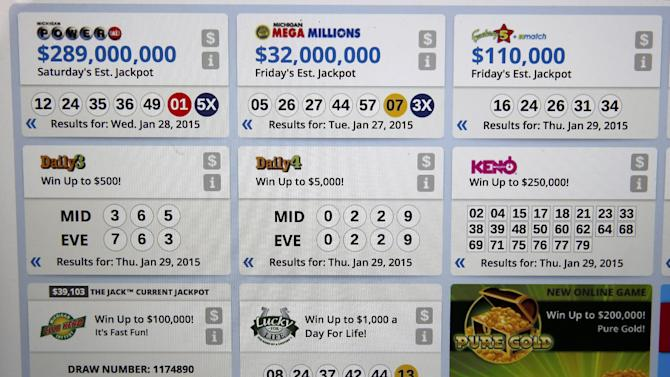 michigan 3 digit evening lottery numbers