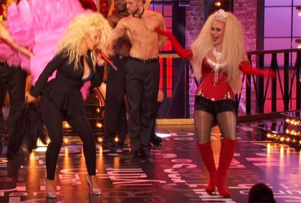 Hayden Panettiere, Christina Aguilera Do 'Lady Marmalade' on 'Lip Sync Battle'
