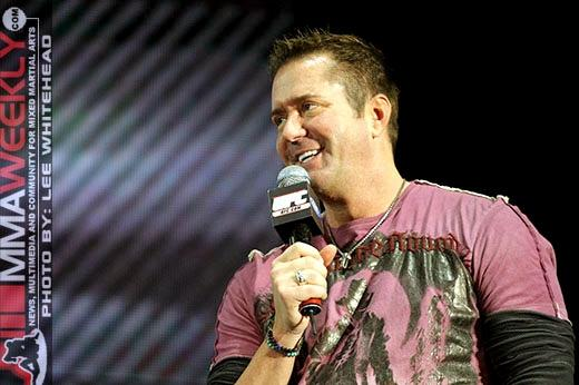 UFC broadcaster Mike Goldberg assumed NFL play-by-play duties this weekend.