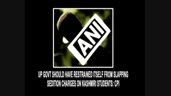 UP Govt should have restrained itself from slapping sedition charges on Kashmiri students: CPI