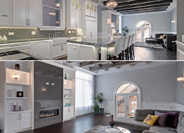 Adventures in Interior Design: This $2.7M Lincoln Park Mansion is Literally 50 Shades of Grey