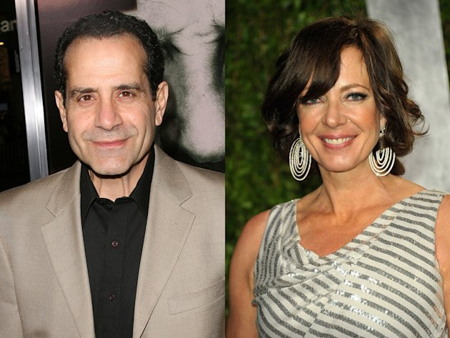 Tony Shalhoub and Allison …