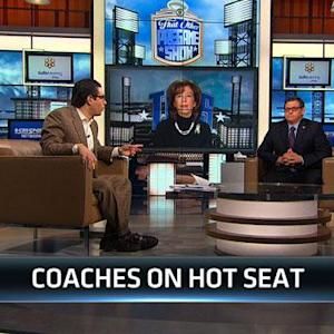 Coaches on the hot seat